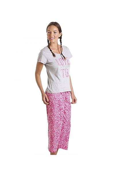 Camille - ropa de dormir Pijama para Mujer de color COLOR DE ROSA de talla 41861