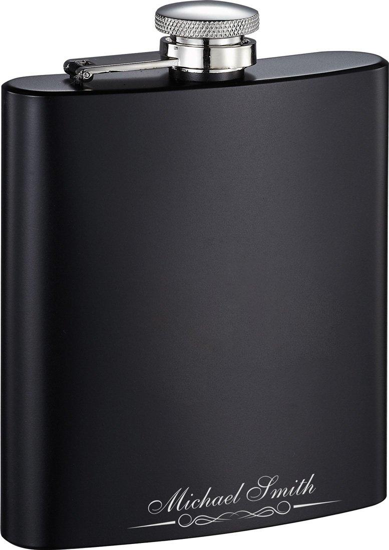 新発売 Personalized Visol Endy 8-oz。Flask 8-oz Engraving。Flask – Free Engraving Visol B075DCWKB4, 清潔キレイ館:5cb217ef --- a0267596.xsph.ru