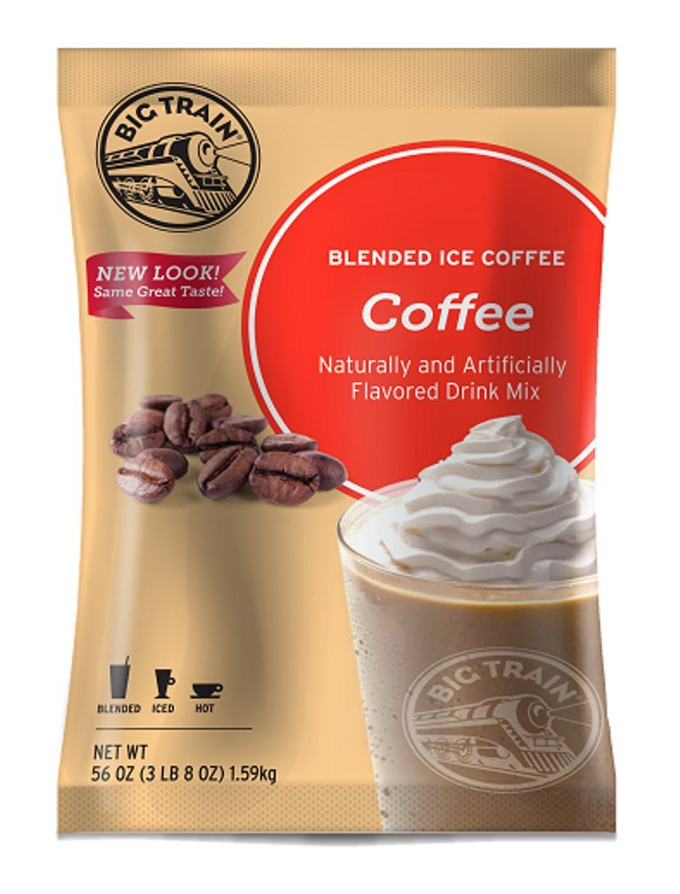 Big Train Blended Ice Coffee, Coffee Flavor, 3.5 Pound Kerry Group BT.610550