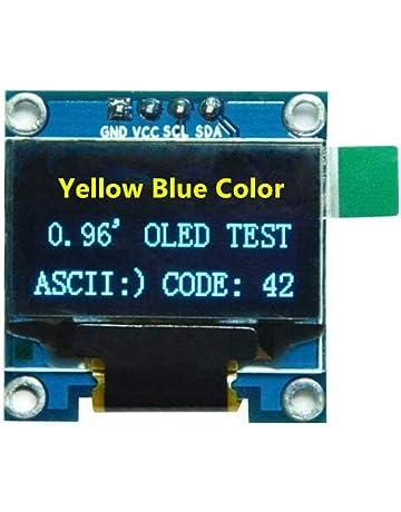 Blanc Lot de 2 1 Diymore 2,3/cm inch IIC I2/C OLED LCD 12832/128/x 32//écran DIY module Ssd1306/pilote IC DC 3.3/V 5/V Stm32/pour Arduino Pic
