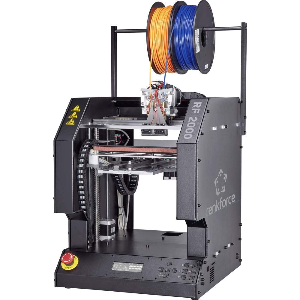 Renkforce RF2000 - Impresora 3D (Aluminio, Acero, Negro, SD, 620 W ...