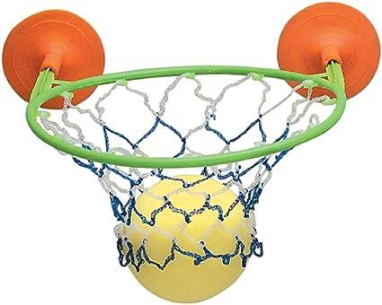 Amazon.com: 2 pieza Suction Cup Juego de baloncesto con ...