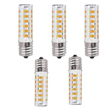 Amazon.com: bqhy® E17 LED foco Horno de microondas, 5 W, luz ...