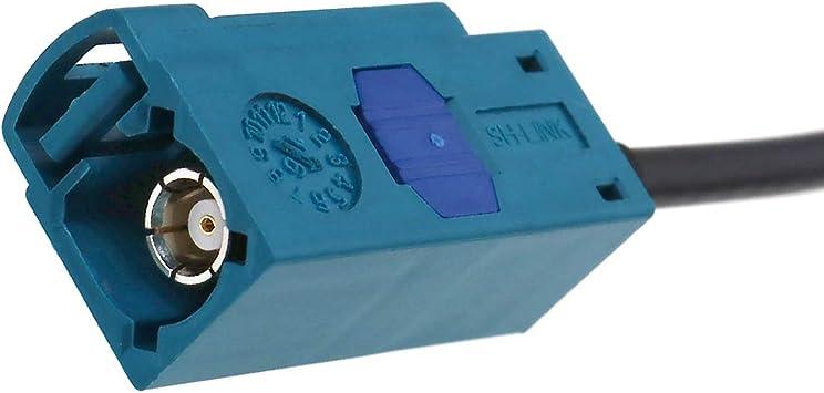 15 Cm Fakra Z Buchse Auf Sma Stecker Kabelkonverter Radio Antenne Adapter Kabel Anschluss Für Navigationssystem Fernbedienung Antenne Baumarkt