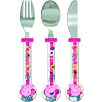 Peppa Pig 1.5 x 11 x 23.20 cm Round Cutlery, Pack of 3