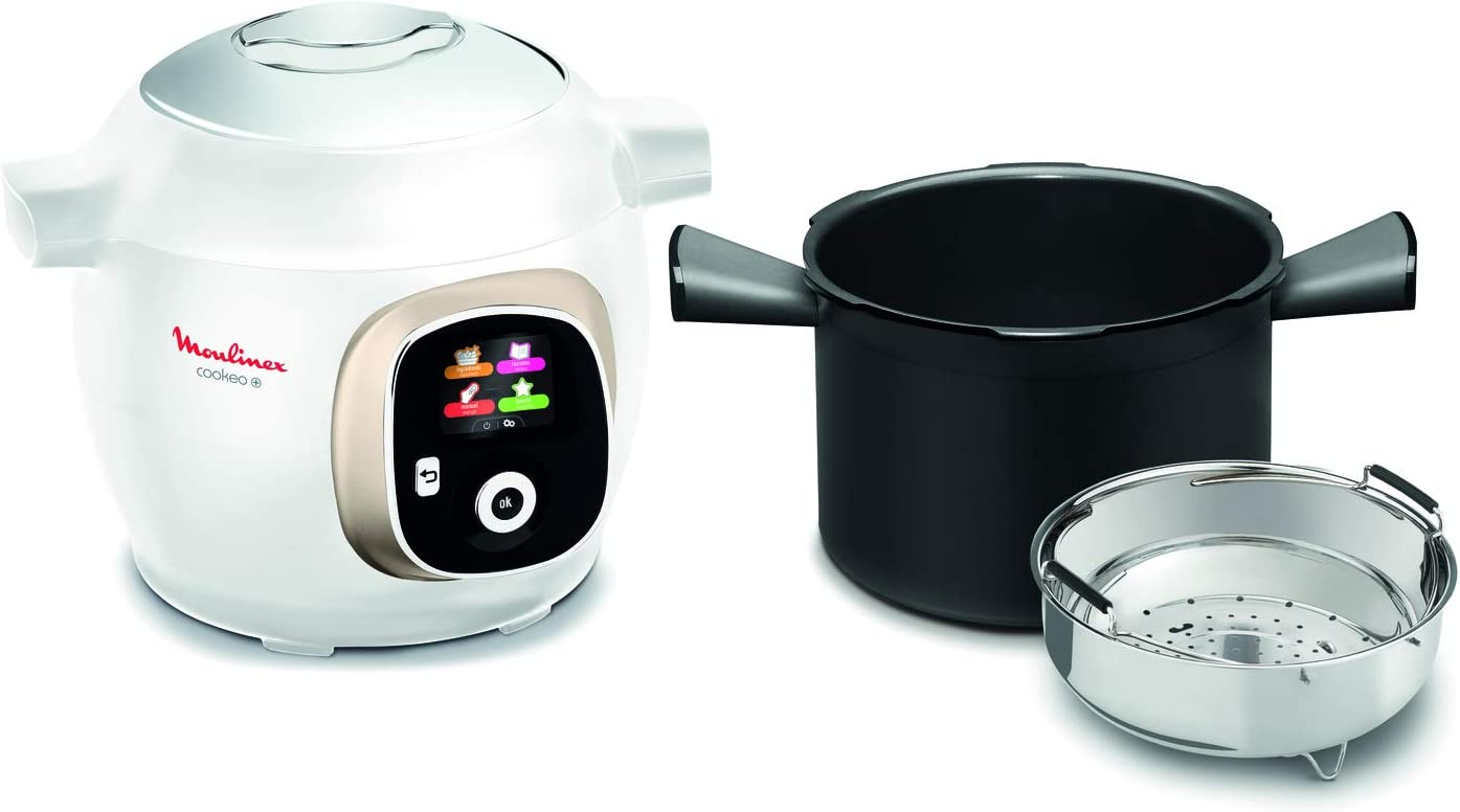 Moulinex Cookeo - Olla de 6 camas, color blanco: Amazon.es: Hogar
