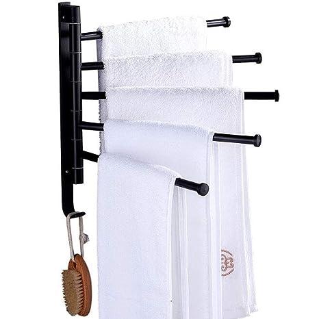 TOWERO Perchero Libre Europeo Espacio Negro toallero de ...