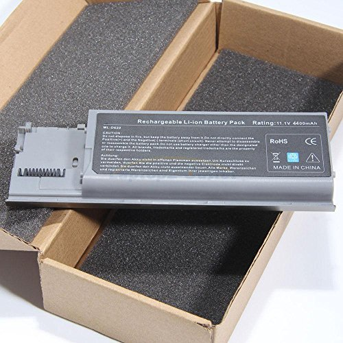 New 6 Cell Battery for Dell Latitude D620 - Battery Dell D630