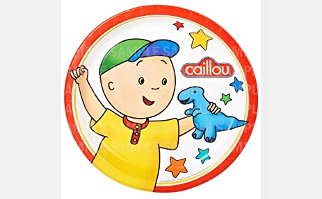 Amazoncom Caillou Dinosaur Toy Edible Image Photo 8 Round Cake