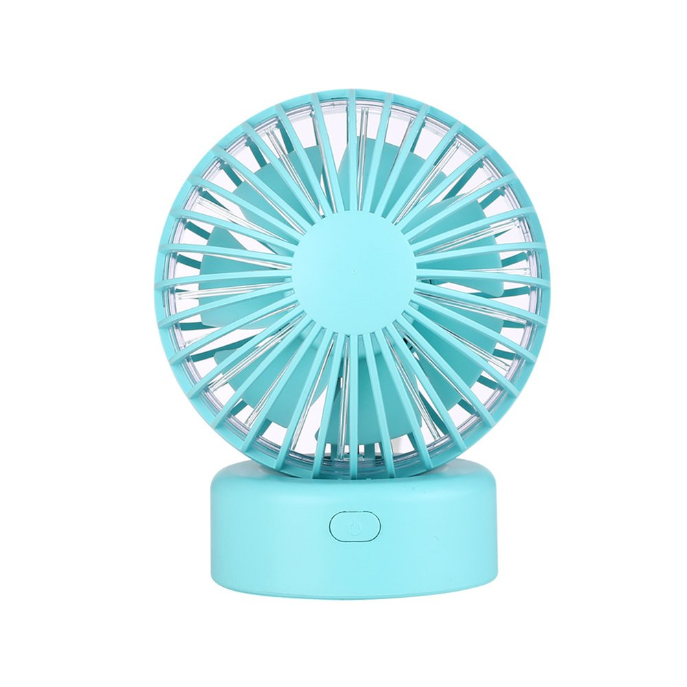 Amazon.com: CHoppyWAVE Portable Cooling Air Cooler Travel Office USB Charge Table Desk Silent Mini Fan - White: Health & Personal Care