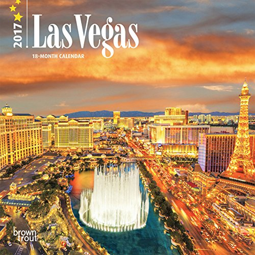 Las Vegas - 2017 Mini Calendar 7 x 7in
