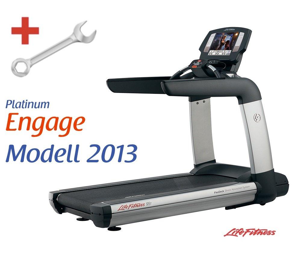 Life Fitness Platinum Club Series Engage Laufband inkl. Montage
