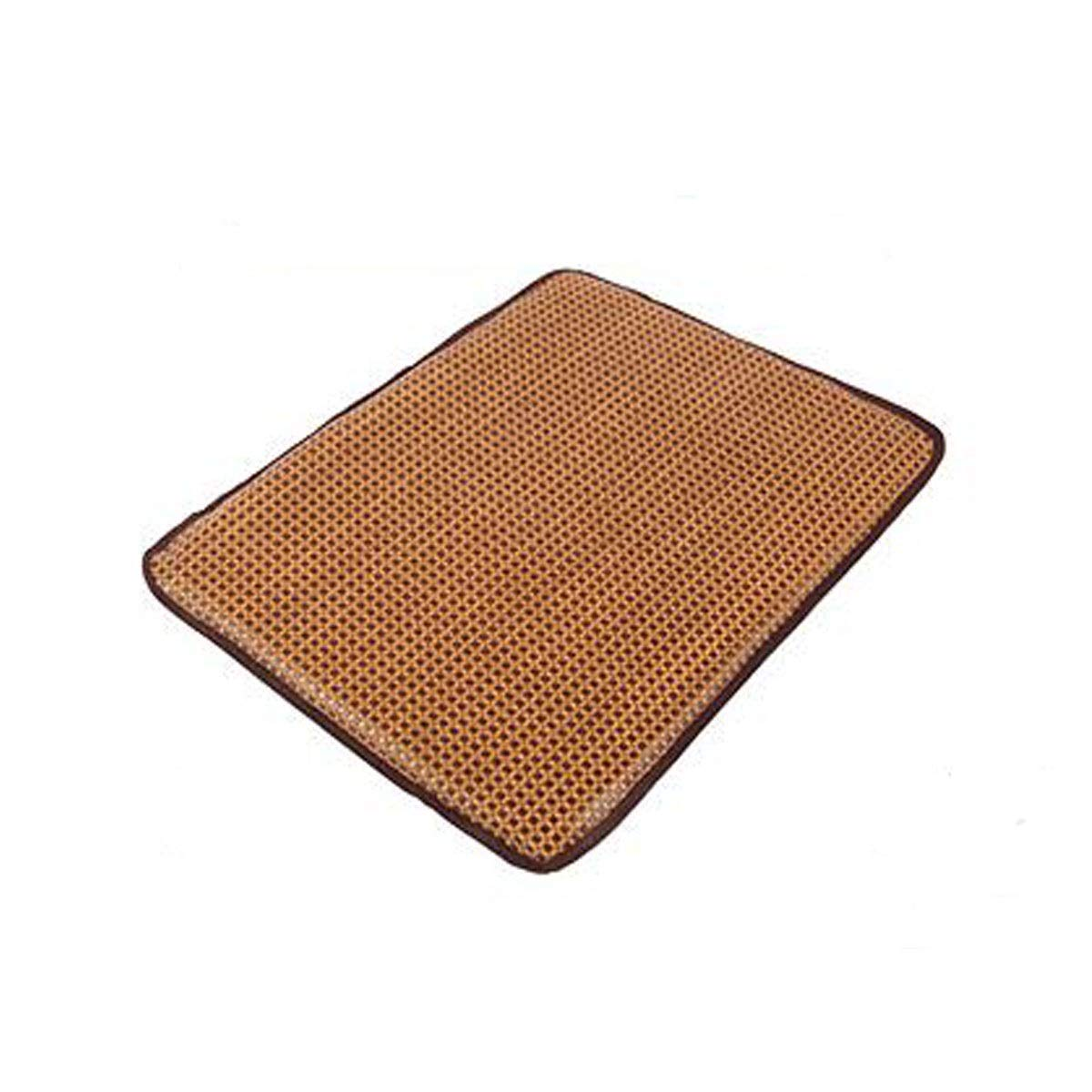 Rattan B S Rattan B S Chenjinxiang01 Dog Cooling Mattress Dog And Cat Bed Summer Cool Pad, Extra Large Non-toxic, Non-sticky, Skin-friendly, Keeps The Pet Sleep Cool And Cushioned (three colors S-XL) delicate