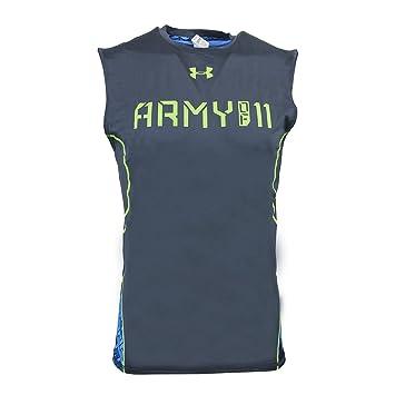 Under Armour Army Of 11 - Camiseta de futbol americano sin mangas - Wire 073 (X-Large): Amazon.es: Deportes y aire libre