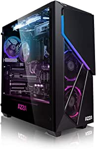 PC Gaming - Megaport Ordenador Gaming PC AMD Ryzen 5 3600 6X 3.60GHz • Nvidia GeForce RTX2060 6GB • 240GB SSD • 1000GB HDD • 16GB DDR4 RAM • Windows 10 Home • WiFi • PC Gamer • Ordenador de sobremesa