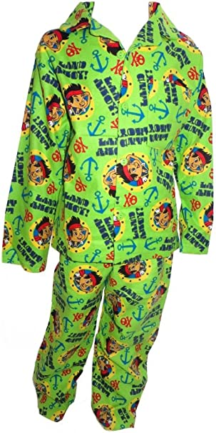 12-18 up to 3-4 years BOYS DISNEY JAKE AND THE NEVERLAND PIRATES PYJAMAS AGES