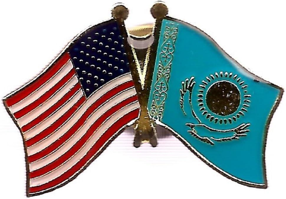 USA American Honduras Friendship Flag Bike Motorcycle Hat Cap lapel Pin