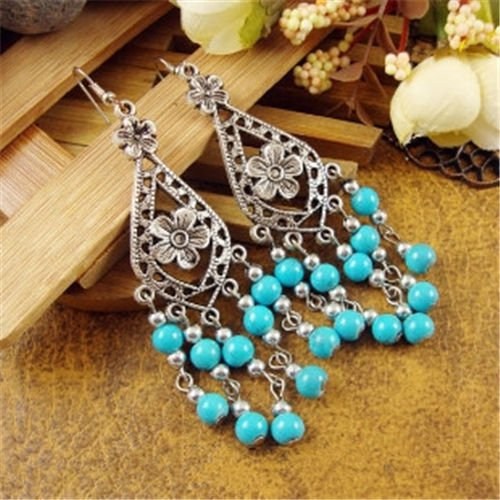 (New Chic Fashion Womens Jewelry Ethnic Style Type Ear Stud Earrings Gift E71 )