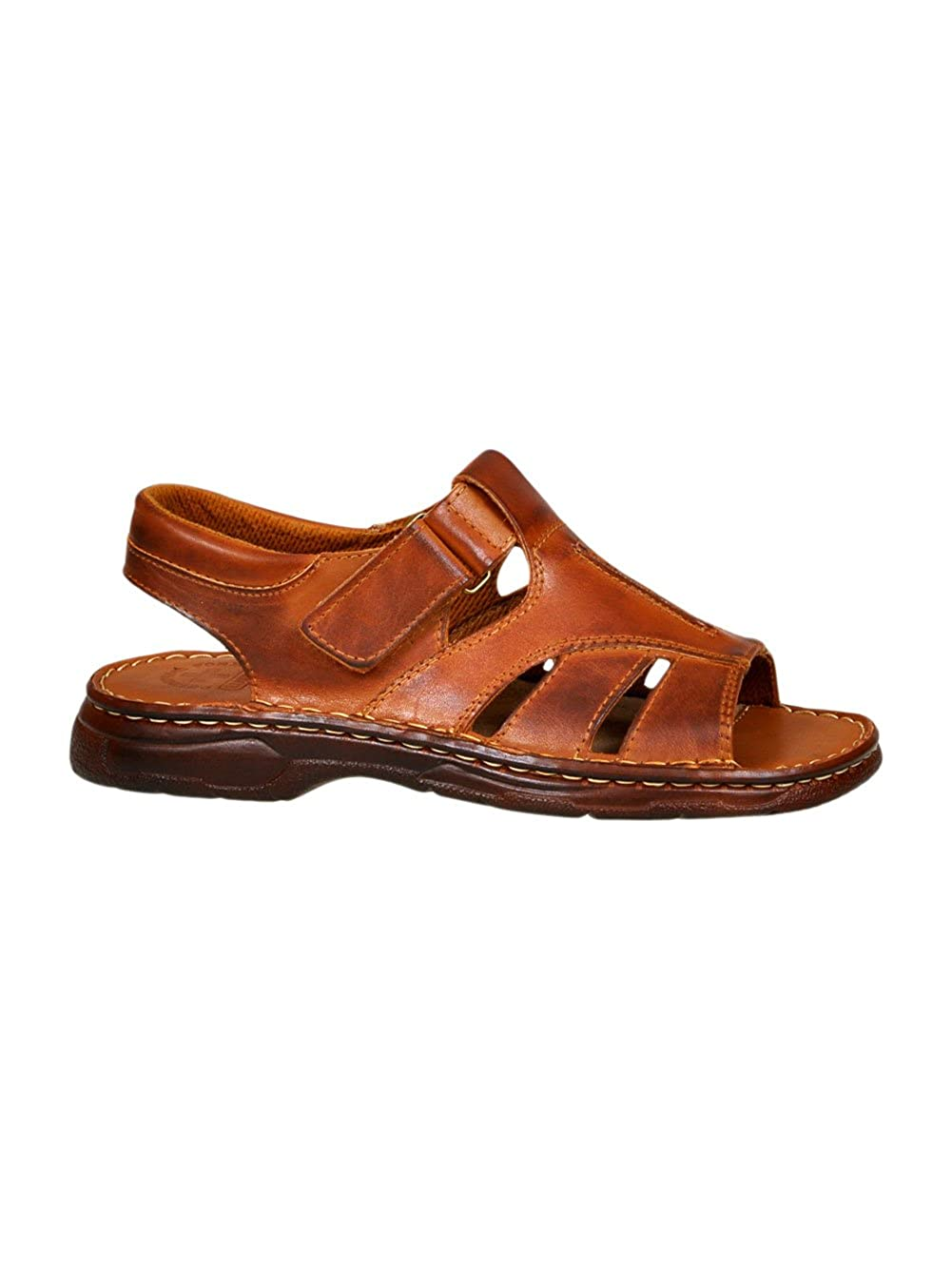 Mens Genuine Buffalo Leather Sandals Model 835