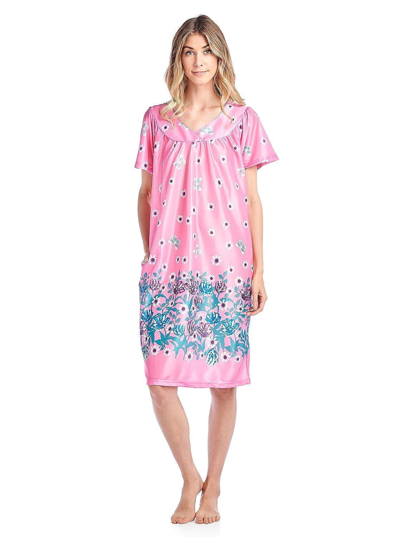 f4974707fa529 Casual Nights Women's Short Sleeve Muumuu Lounger Dress