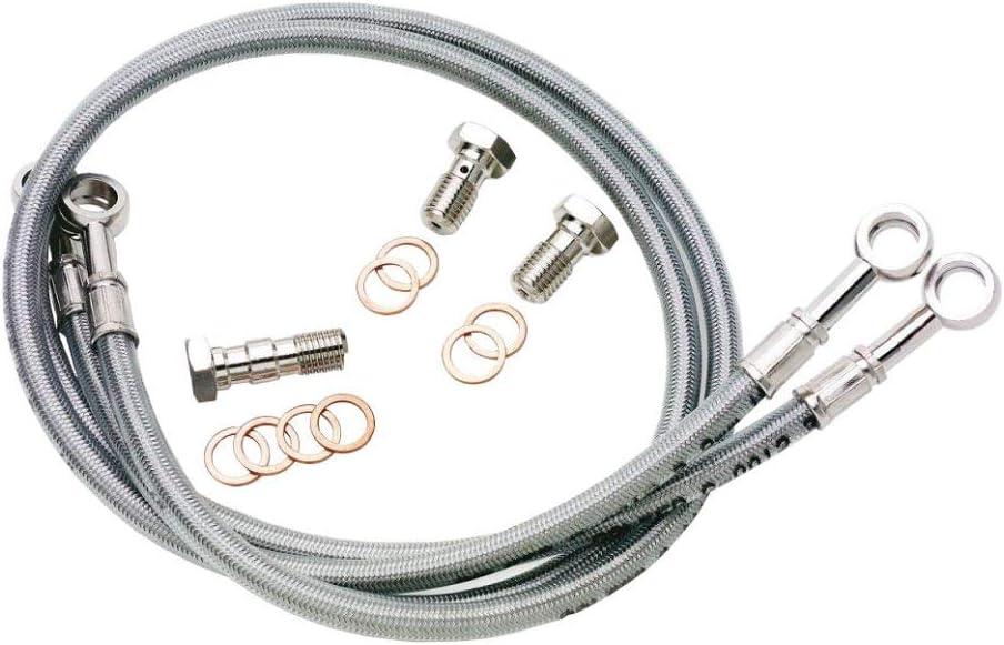 9 Line Galfer Brake and Clutch Line Kit for 02-04 Honda VTX1800C