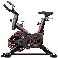 Indoor Spinningfiets, Hometrainer Ultrastil Met Geluidsarm Riemaandrijfsysteem, Oneindige Weerstand, Comfortabel…