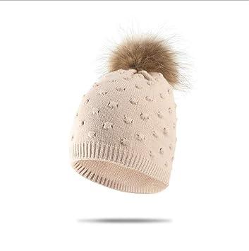 MS.REIA Señoras de Invierno de Punto Sombreros Calientes Gorras de ...