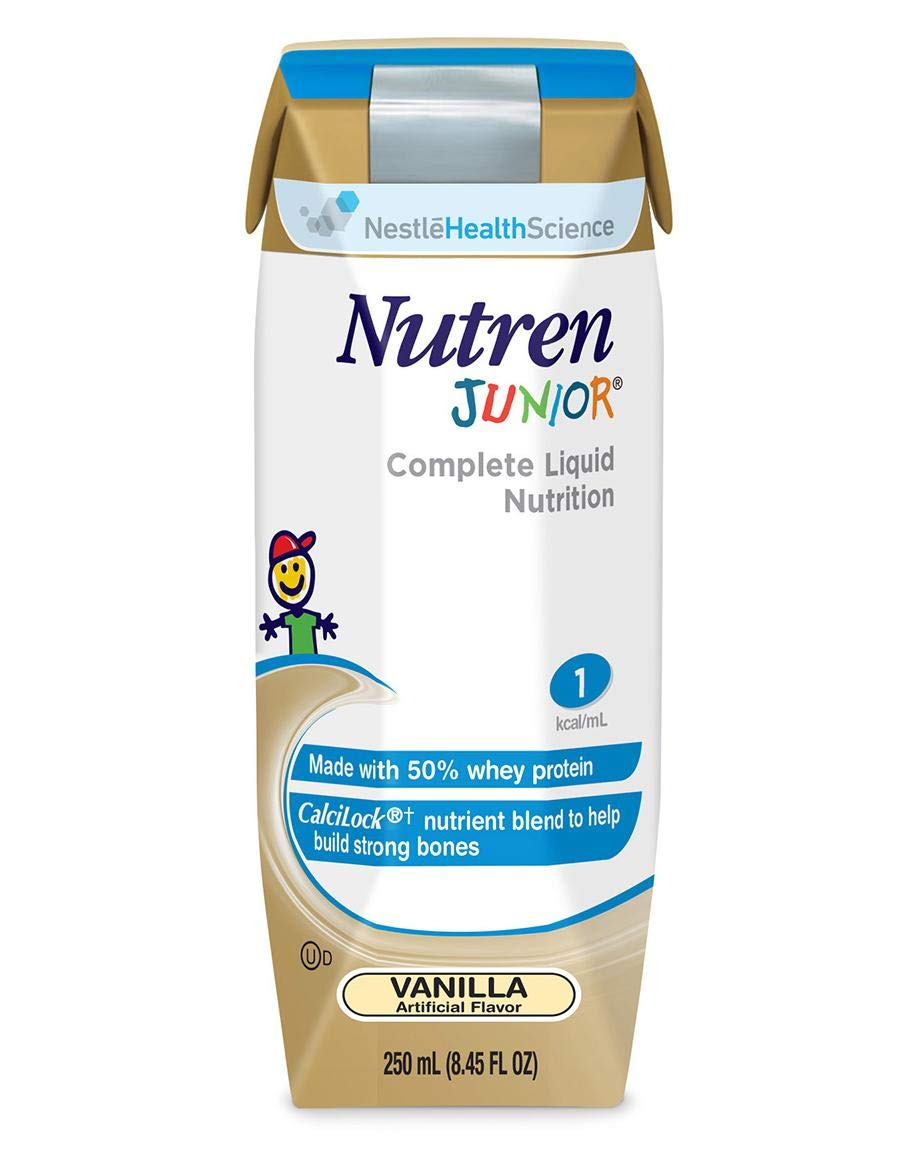 Nestle Clinical Nutrition Nutren Junior Nutritional Supplement, Ncl6062, 1 Pound