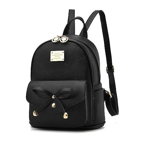4ece0f7151 Amazon.com  Socutee Leather Backpacks Purses Convertible Mini Shoulder Bag  School Bag for Girls Black  Shoes