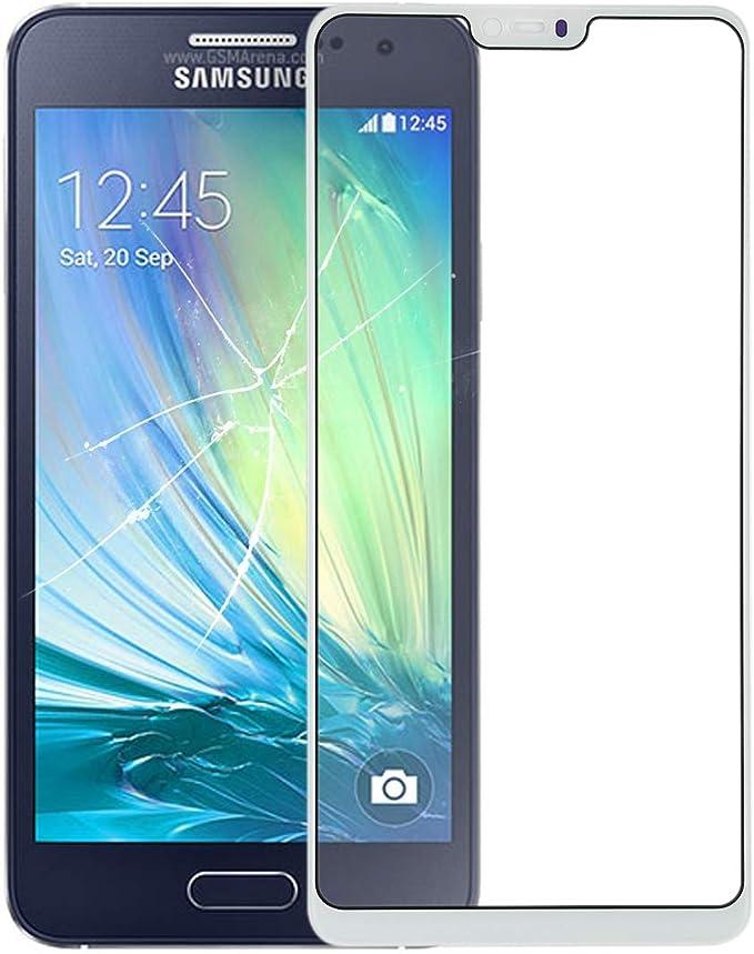JUNXI Phone For la Lente de Cristal Exterior OPPO A3 (Negro) de la ...