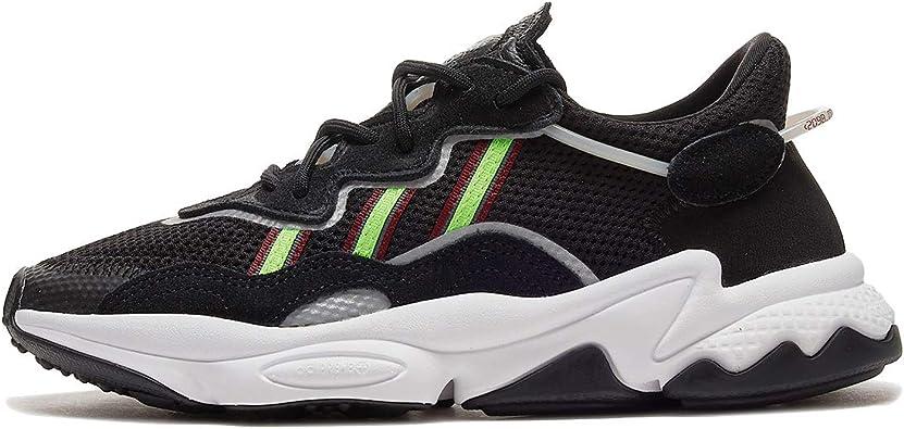 adidas Ozweego Core para hombre negro/verde solar/Onix EE7002: Amazon.es: Zapatos y complementos