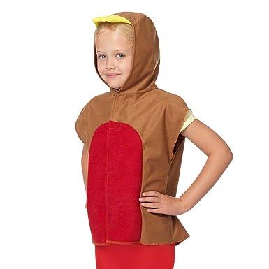 Amazon.com: Robin Red Breast playera estilo disfraz para ...