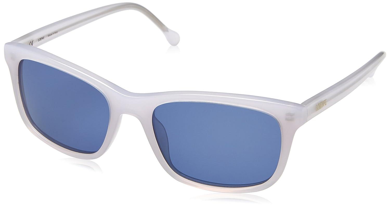 Loewe SLW941M5509XL Gafas de sol, Shiny Opaline White, 55 ...