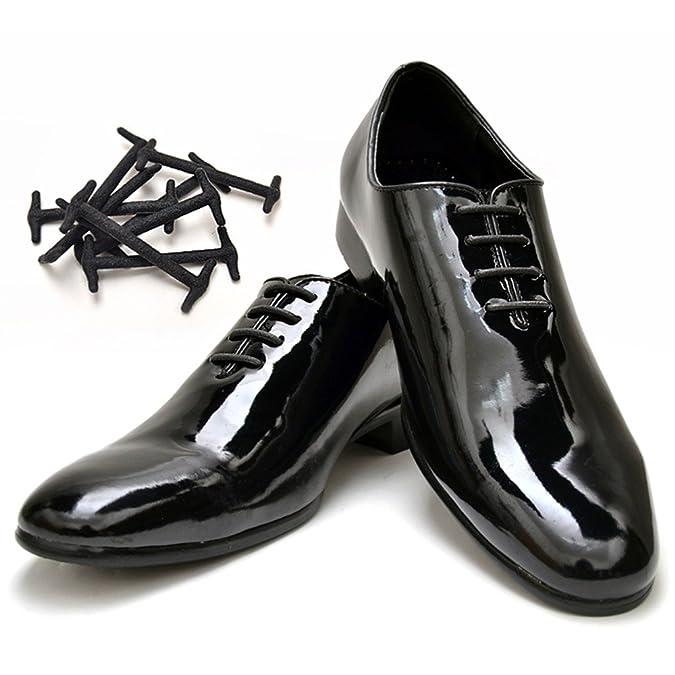 2016 New Black Brown No Tie Shoelaces Elastic Silicone Shoe Lace Set//10pcs