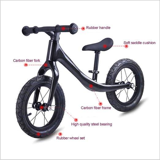 PING Bicicleta de niños pedalless Scooter Fibra Equilibrio Coche ...