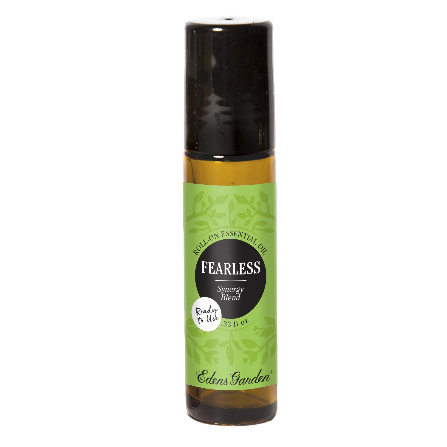 Edens Garden Fearless Essential Oil Synergy Blend, 100% Pure Therapeutic Grade (Pre-Diluted & Ready To Use- Energy & Stress) 10 ml Roll-On