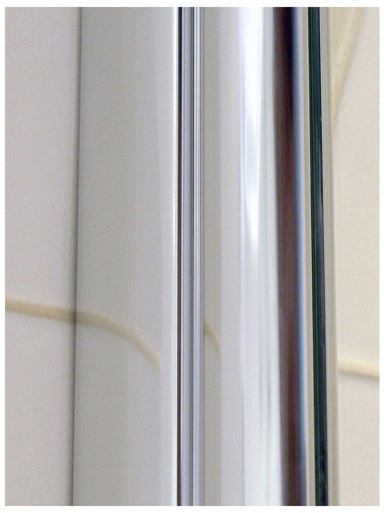 Amazon.com: Ark Showers Semi Frameless Bathtub Shower Screen, Pivot Door,  70 X 33.5, 5/16 (8mm) Glass With Square Top Corner, White Hinge.