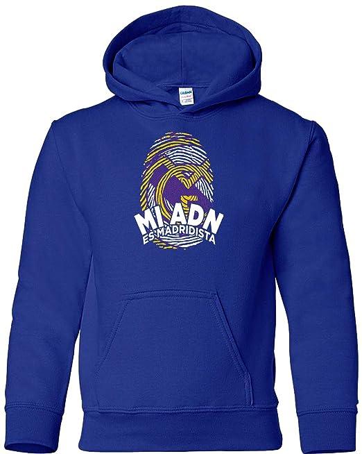 Sudadera Adulto niño ADN Madridista Camisetas del Real Madrid  Amazon.es  Ropa  y accesorios f2c81d9767344