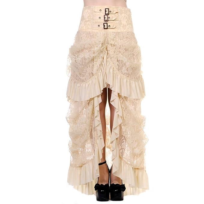 Banned - Falda - Asimétrico - para Mujer: Amazon.es: Ropa y accesorios