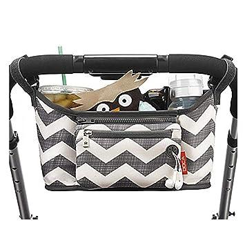 Amazon.com: Organizador para cochecito de bebé, bolsa de ...