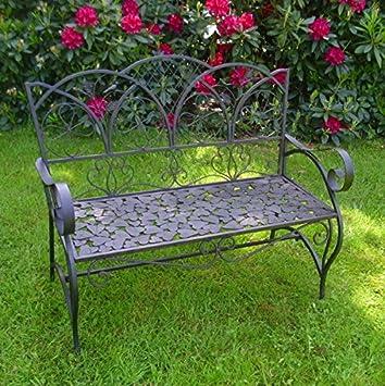 Gartenmöbel Im Landhausstil amazon de gartenbank antik nostalgie landhausstil neu gartenmöbel