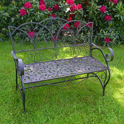 Gartenbank Antik Nostalgie Landhausstil Neu Gartenmobel Metall Park