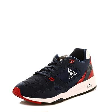 ce202814288f Le Coq Sportif Mens Dress Blue LCS R 1000 Trainers  Amazon.co.uk  Shoes    Bags