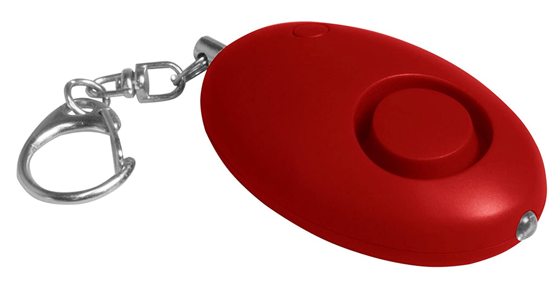 Alarm Ei Rot Panikalarm 100 dB incl. LED-Leuchte und Batterien zu Ihrer Sicherheit und Ihrer Kinder Fa. Bowatex