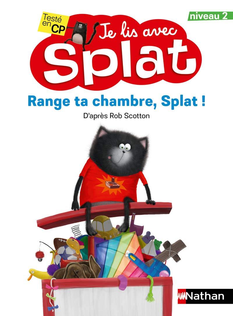 Amazon.com: Je lis avec Splat niveau 10 Range ta chambre, Splat