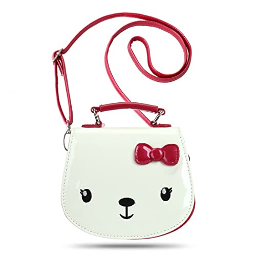 3a218b7f73af Ava   Kings  Toddler Girl Purse Glossy PU Faux Leather Cute Animal Small  Handbags -