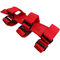 Jade Rojo Roll Bar extintor Soporte para Jeep Wrangler YJ TJ JK ATV/UTV