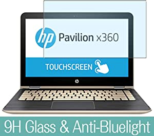 "Synvy Anti Blue Light Tempered Glass Screen Protector for HP Pavilion x360 m3-u100 / u103dx / u101dx 13.3"" Visible Area 9H Protective Screen Film Protectors"