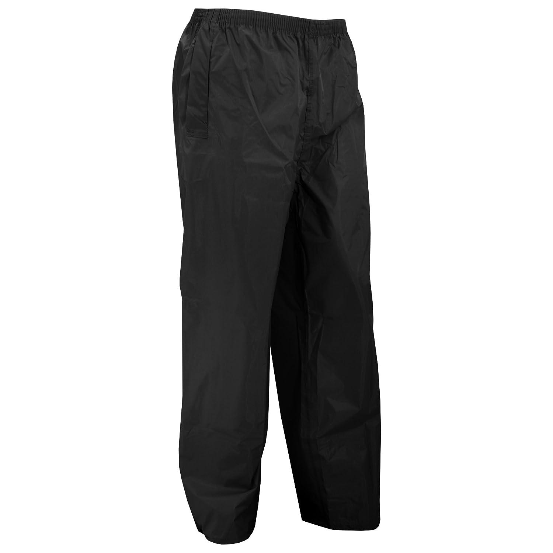 Portwest Mens Classic Rain Trouser (S441) / Pants (M) (Black) UTRW1023_3
