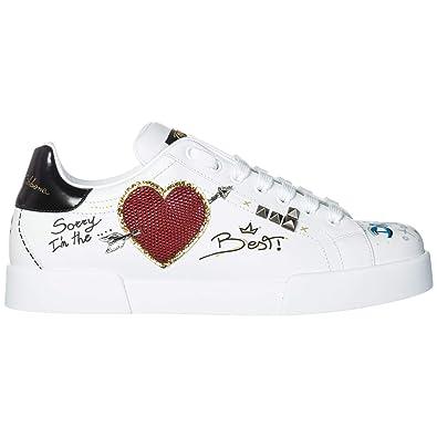 timeless design fcaea 50255 Dolce & Gabbana Herrenschuhe Herren Leder Schuhe Sneakers ...